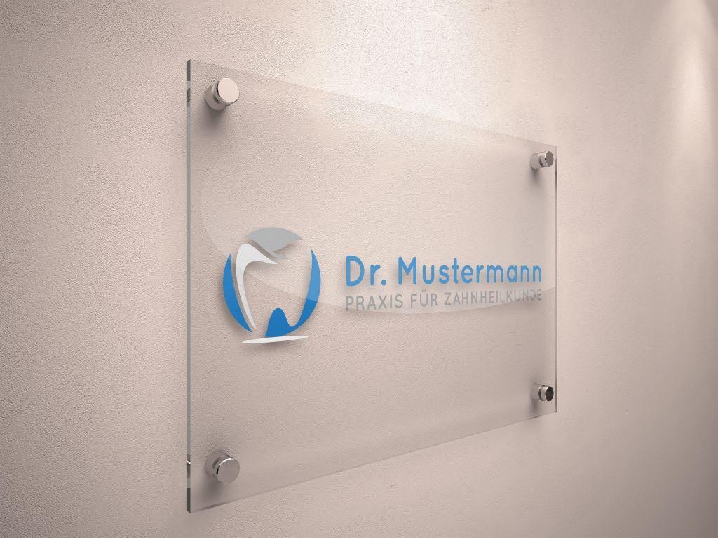 Arzt Logo Beispiel 1 - Logo für Zahnarztpraxis