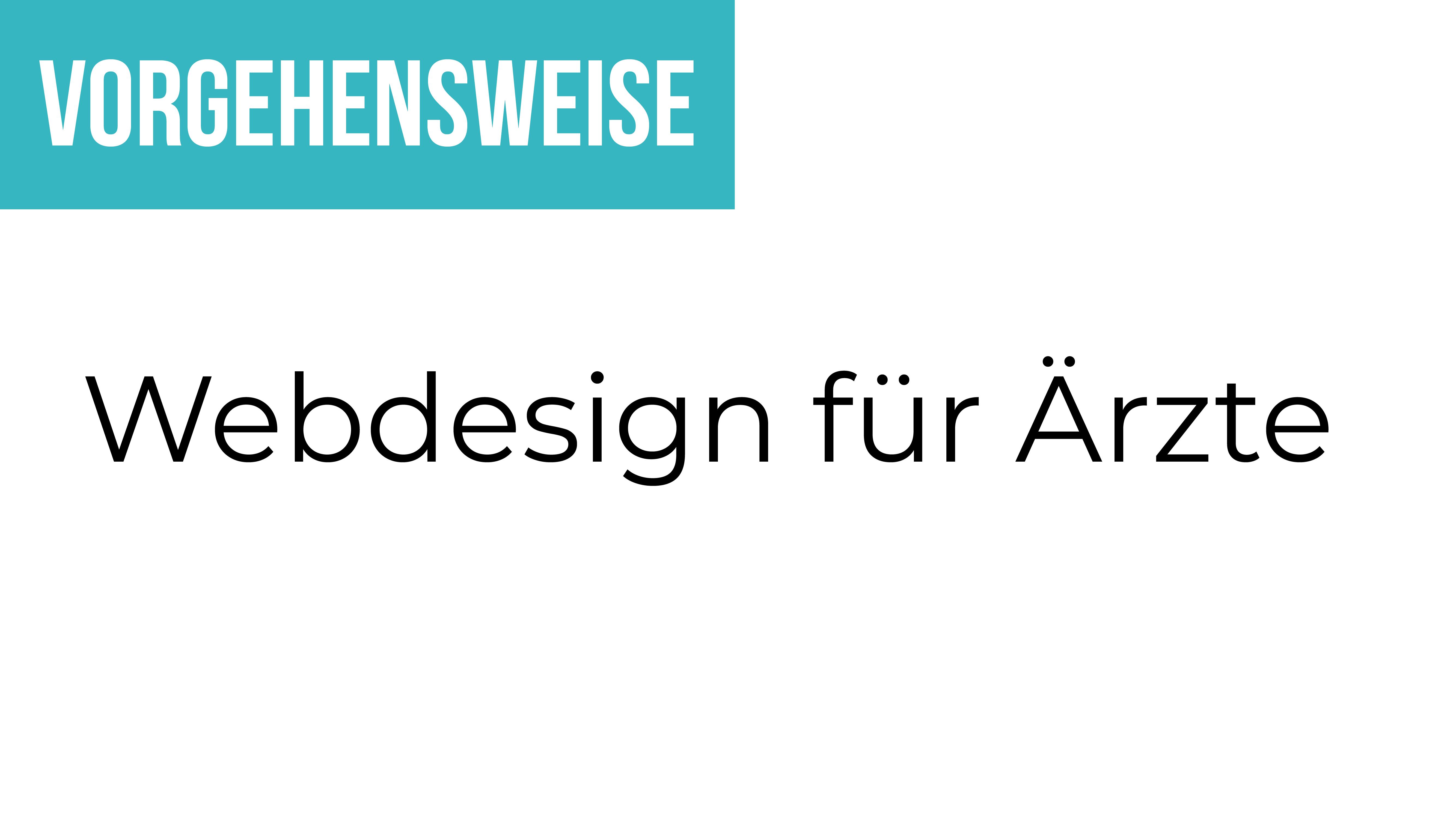 Webdesign für Ärzte - das Erklärvideo